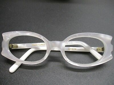 568a259325b VTG WOMEN S SWANK France 2730 Taupe Cat Eye Modish Frame Glasses w ...