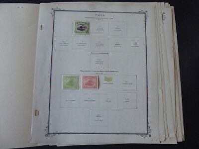 British Colonies 1903-1937 Stamp Collection on Scott Specialty Album Pages
