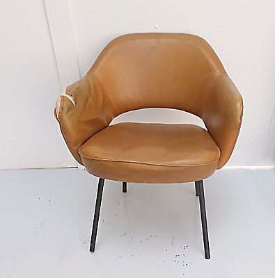 fauteuil knoll conference chair vintage design Eero Saarinen années 60 70 1960