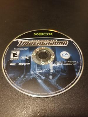 Need for Speed: Underground -- Microsoft Xbox  -- C+ CONDITION -- DISC ONLY