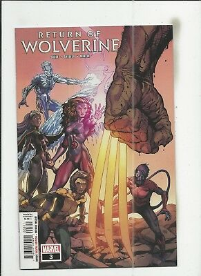 Return of Wolverine #3 near mint- (NM-) condition