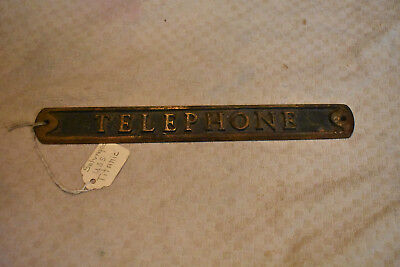 Pay Telephone Sign