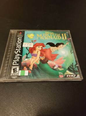 Disney's The Little Mermaid II  -- Sony PlayStation 1 PS1 -- B+ CONDITION