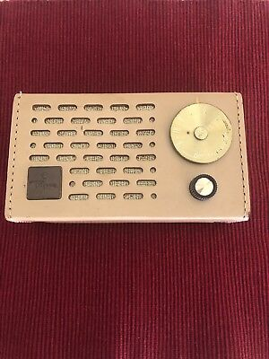 1950's Regency Model TR-5C  Transistor Radio Untested
