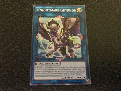 Knightmare Gryphon Secret Rare FLOD-EN048 Near-Mint 1st Edition