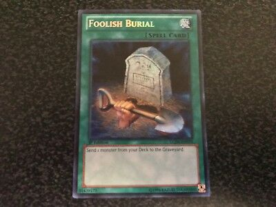 Foolish Burial Secret Rare LCJW-EN070 Near-Mint 1st Edition