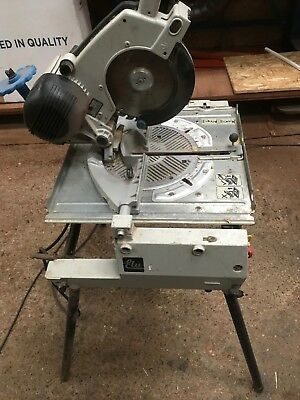 Elu Flip Over Mitre Saw Bench Chop Saw Rip Saw 240V Table saw with Legs Working