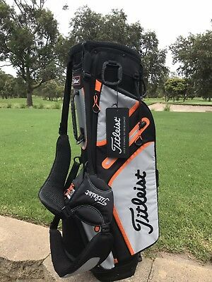 5b92e05c6ca3 Titleist bag - brand new - model TB5SX1-228 - Graphite   Grey   Orange