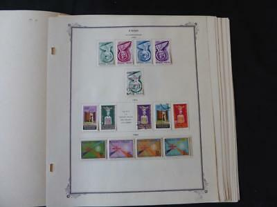 Togo 1957-1966 Stamp Collection on Scott Specialty Album Pages