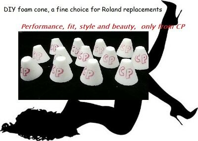 DIY Trigger Cone 5 pak by Convertible Percussions (Roland replacement cone)