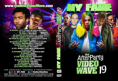 NY FADE - the After Party 19 [Video Mix & Mixtape] CD & DVD [Double Disc]
