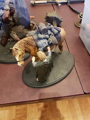 Lord of the rings weta collectibles SAMWISE GAMGEE AND BILL THE PONY.