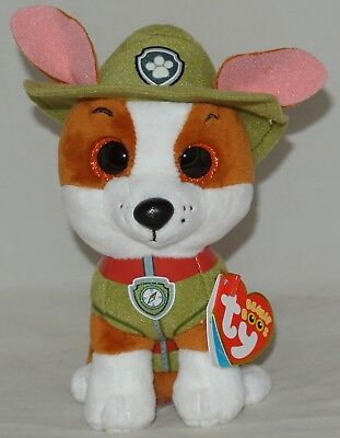 "New! 2018 Ty Beanie BOOS TRACKER from PAW PATROL  6"" size"