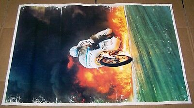 Vintage Flame Out 1974 Poster Original Speed Factory #121 - P68