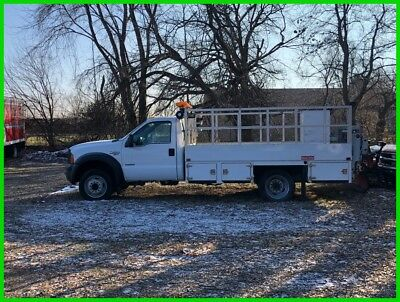 2007 Ford F450 Super Duty Tire Recycling Truck with Liftgate NO RESERVE AUCTION