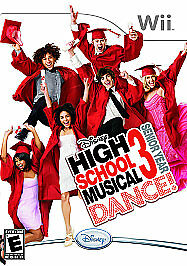 High School Musical 3: Senior Year Dance for Nintendo Wii NEW FACTORY SEALED