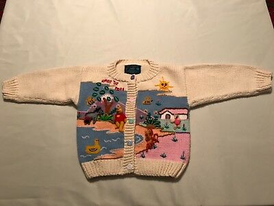 Unique Toddler Sweater/  Winnie the Pooh