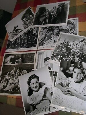 Donna Corcoran Original 1952/53 Lobby Cards Six Movies Eleven 10 by 8 inches
