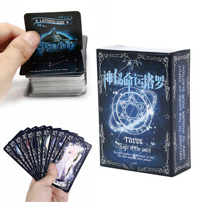 78pcs Destiny Tarot Cards Board Game Playing Cards For Party Cards Game  R