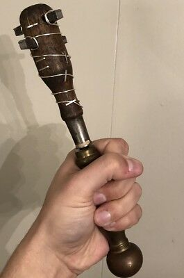 Trench Club Inspired, Repro Battle Mace War Hammer, Zombie Mace Spike