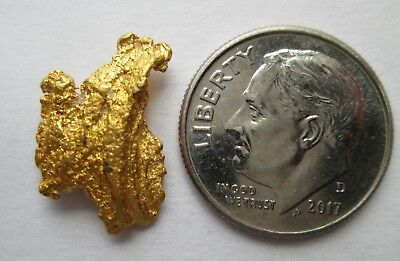 3.052 Gram Great Quality High Purity Natural Australian Gold Nugget, # CG 5009