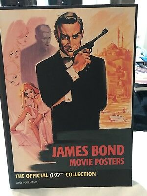 JAMES BOND MOVIE POSTER BOOK OFFICIAL 007 POSTER COLLECTION - Tony Nourmand