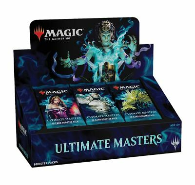Ultimate Masters Uma Booster Box - Magic The Gathering - Sealed With Box Topper!