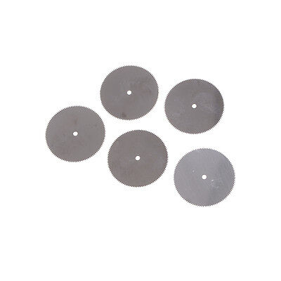 5Pcs 32mm Stainless Steel Saw Slice Metal Cutting Disc Rotary Tool T VOFDCA