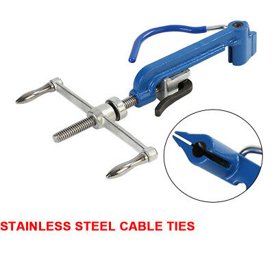 Stainless Steel Band Tool Strapping Packer Machine Pipe Packing Pliers <250 HB