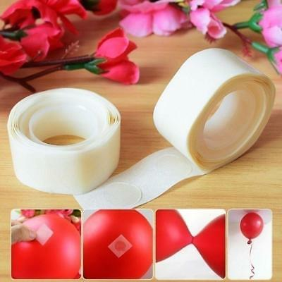 400 Dots of Super Glue Adhesive Points Tape Great for Balloon Decoration QA