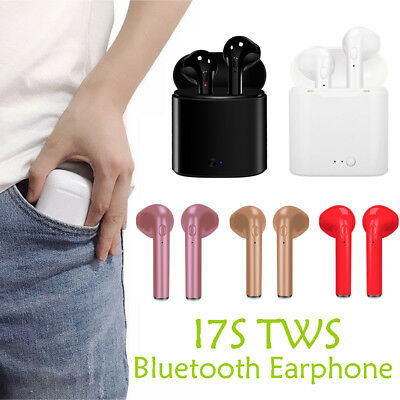 Wireless Bluetooth Earphones Headphones Earbuds w/ Charging Box Sports Earbuds