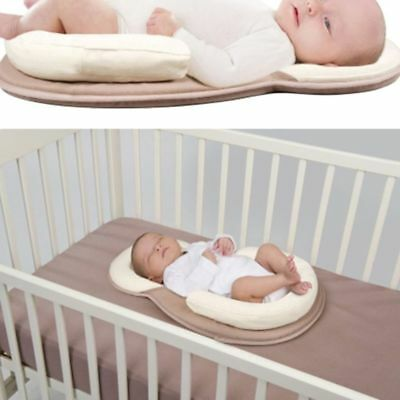 Baby Pillow Sleep Cushion Newborn Cot Crib Portable Nest Bed Mattress Breathable
