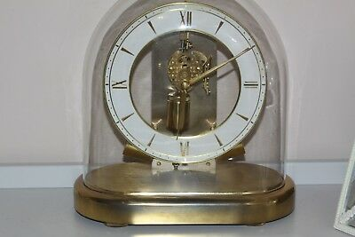 Rare Vintage Junghans Ato Electric / Battery Mantle Clock G.w.o.