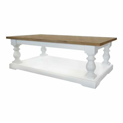 Provence Farmhouse Country Rustic Coffee Table