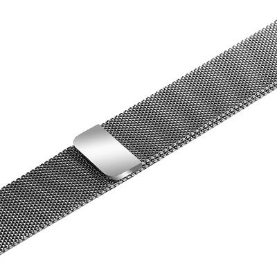 Apple Watch Series 4 40mm Milanese Loop Magnetic Stainless Band - Silver