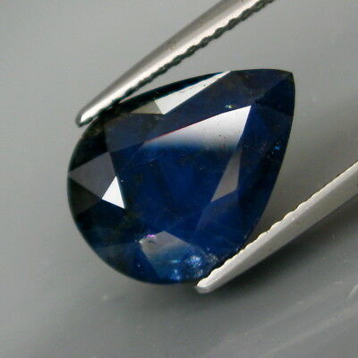 8.50Ct.Attractive Color! Natural BIG Midnight Blue UNHEATED Sapphire Africa