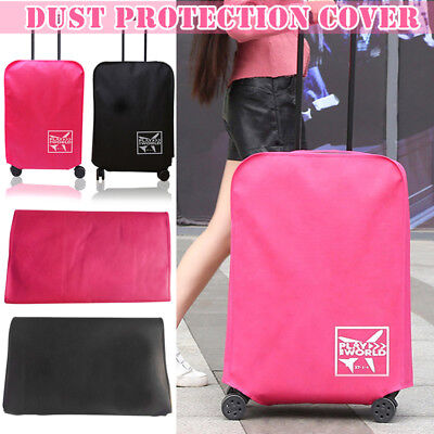 1 Pcs Waterproof Protective Travel Luggage Suitcase Dustproof Cover Protector