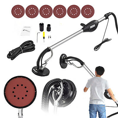 Commercial Drywall Sander Tool 800W Electric Adjustable Variable Speed Sand Pad