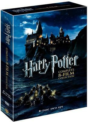 Harry Potter: Complete 8-Film Collection (DVD, 2011, 8-Disc Set) Factory Sealed
