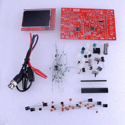 "Fully Welded Assembled DSO138 2.4"" TFT Digital Oscilloscope 1Msps Probe Kit"