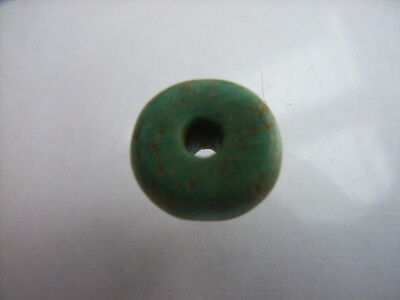 1 Ancient Neolithic Amazonite Bead, Stone Age, VERY RARE !!