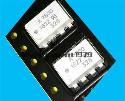 10PCS NEW HCPL7800A AVAGO SOP-8 High CMR Isolation Amplifiers