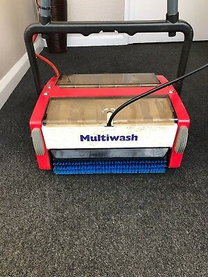 TRUVOX MW340 Multiwash Floor Scrubber/Carpet Cleaner (240volts)