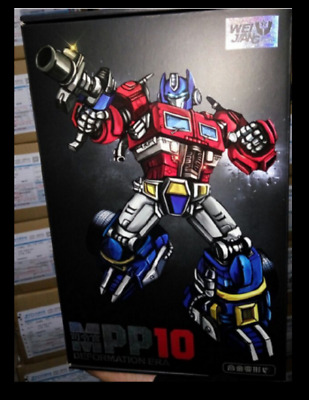 Classic old  alloy modified MPP-10 G1 optimus prime deformation toy box