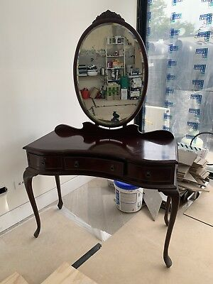 Antique Queen Anne Dressing Table