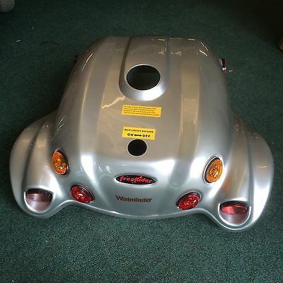 Freerider Westminster Rear Chassis Cover In Silver