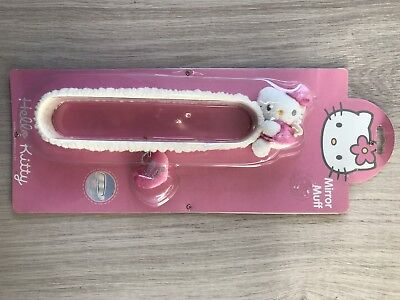 *NEW* Hello Kitty Sanrio Fluffy car mirror muff