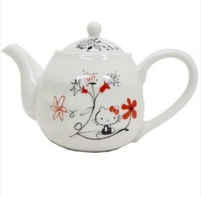Hello Kitty Asian taste KYUSU  Teapot Tea Pot MADE IN JAPAN  530ml