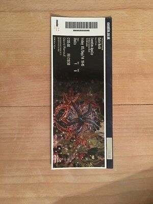 Kate Bush Before The Dawn Concert Art Ticket (Used)