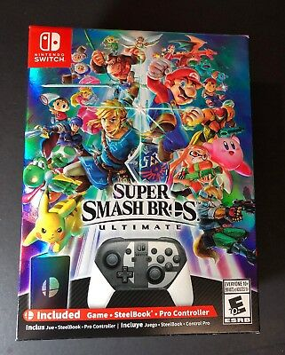 Super Smash Bros Ultimate [ Limited Special Edition ]  (Nintendo Switch) NEW